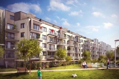 Bytové domy obklopené zelení, zdroj: finep.cz