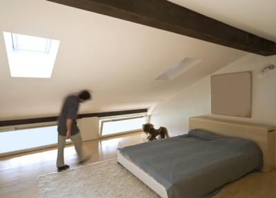 Pozor na šikmé stěny v podkroví, zdroj: shuttestock.com